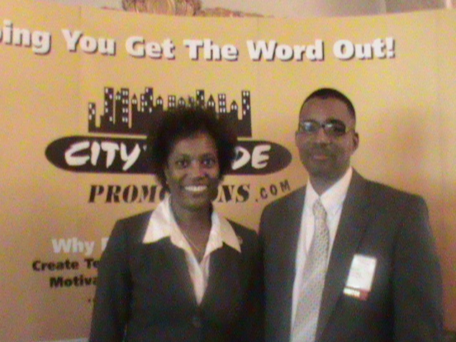 Jonice Adams of the Maryland/DC MSDC and Reggie