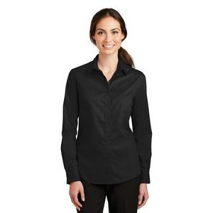 Port Authority® SuperPro™ Ladies Twill Shirt