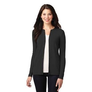 Port Authority® Ladies' Concept Stretch Button-Front Cardigan Sweater