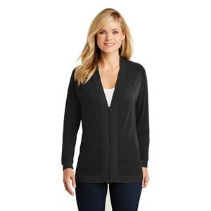 Port Authority® Ladies' Concept Bomber Cardigan Sweater