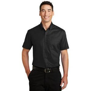 Port Authority® SuperPro™ Short Sleeve Twill Shirt