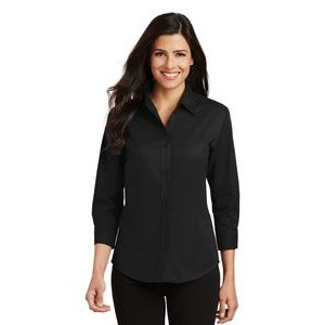 Port Authority® Ladies' Easy Care 3/4 Sleeve Shirt