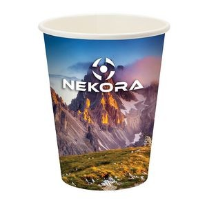 Prka 12oz Single Wall Paper Drinking Cup