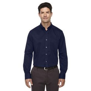 CORE 365 Men's Tall Operate Long-Sleeve Twill Shirt