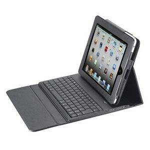 Bluetooth Keyboard & Case Synthetic Leather