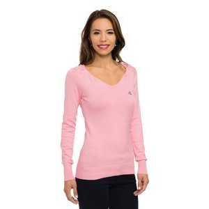 Women's Lilac Bloom® Grace Twisted V-Neck Sweater