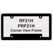 Hi-Impact 3-D Corner View License Plate Frame (ABS)