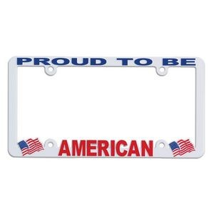 Full View Hi-Impact 3D License Plate Frame (ABS)