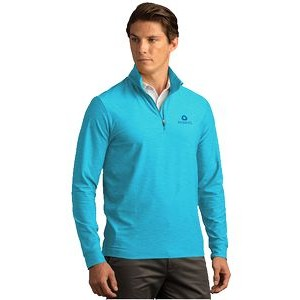 Greg Norman™ Play Dry® Heather 1/4-Zip Mock Neck Sweater