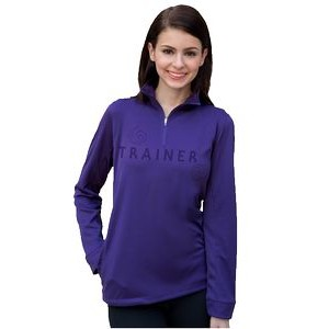 Women's Vansport Mesh 1/4-Zip Tech Pullover Sweater