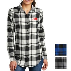 Port Authority® Ladies' Plaid Flannel Tunic