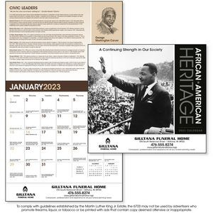 Triumph® African American Heritage Dr. Martin Luther King Jr. Calendar