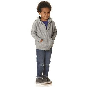 Rabbit Skins Toddler Hooded Full Zip Sweatshirt