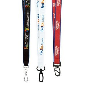 "3/4"" High Detail Woven Lanyard (Air 3-4 Weeks)"