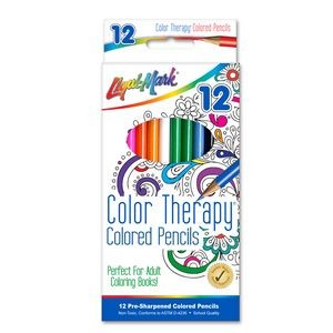 Liqui-Mark® Color Therapy® Colored Pencils (12 Pack)